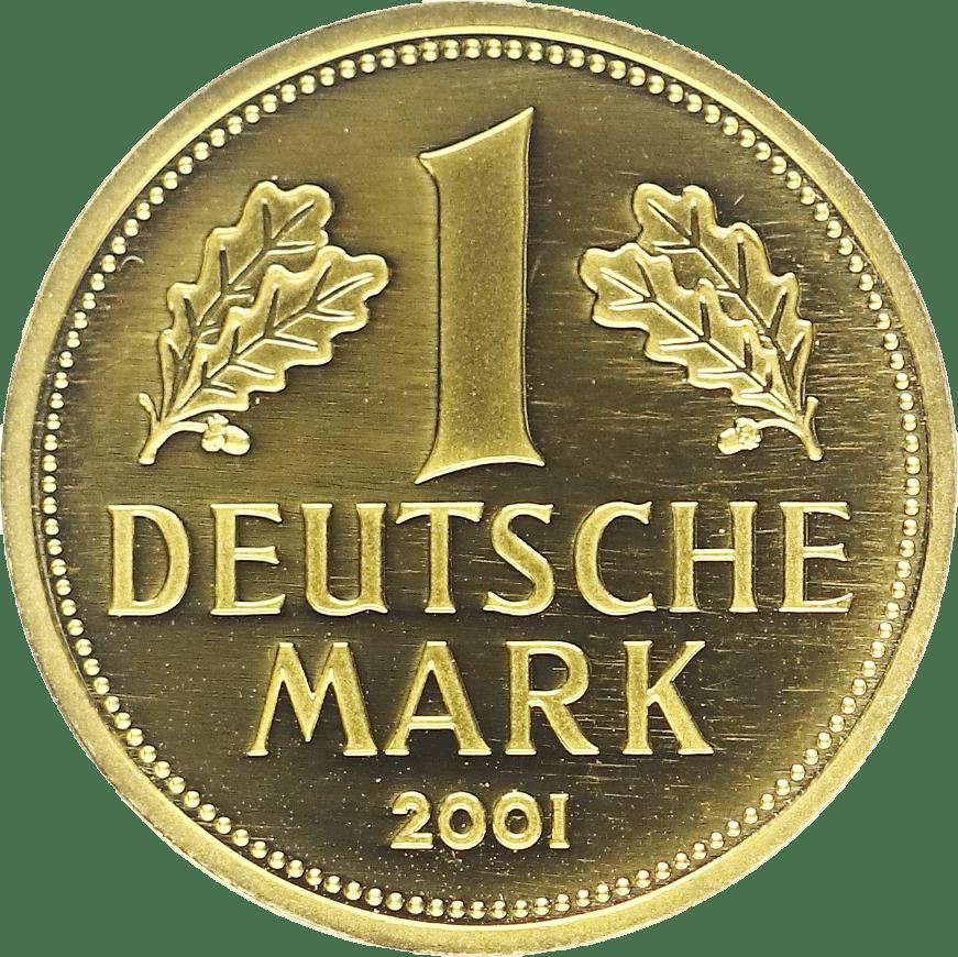 DM Gold Münze im Pfandhaus