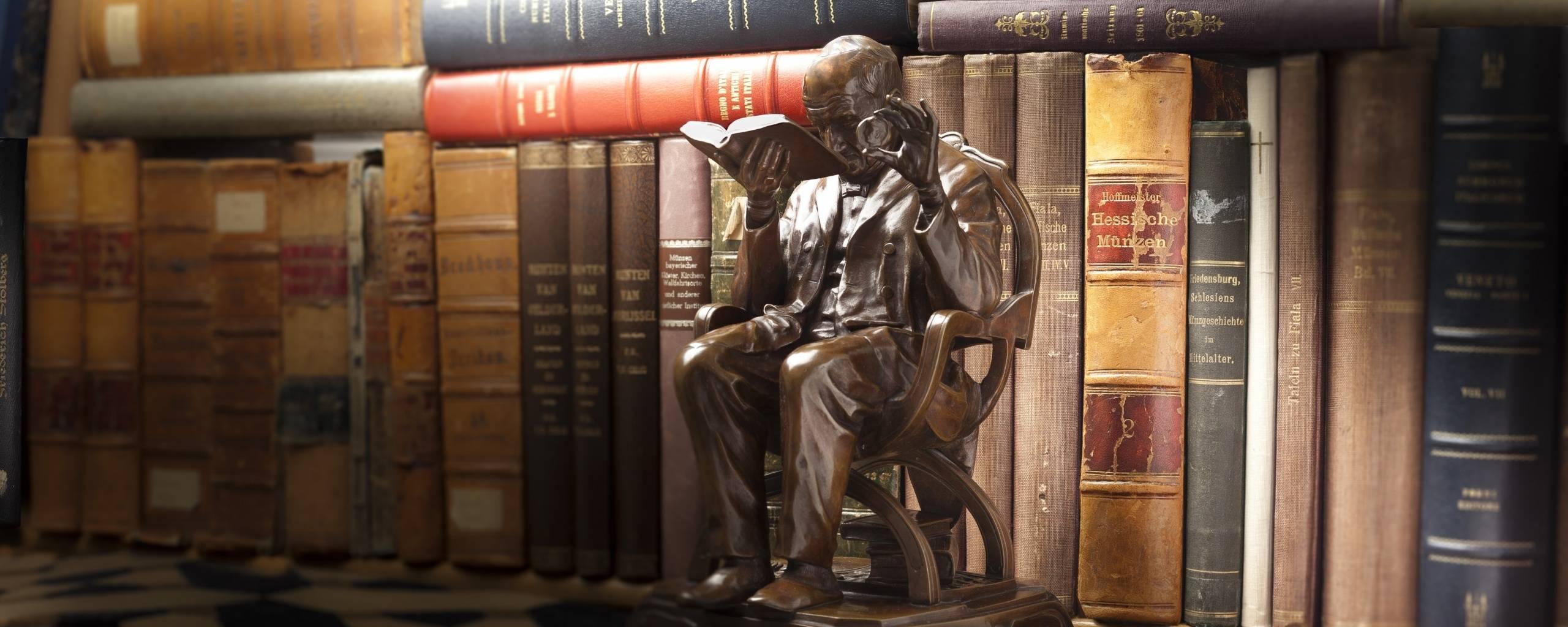 Buch im Pfandhaus