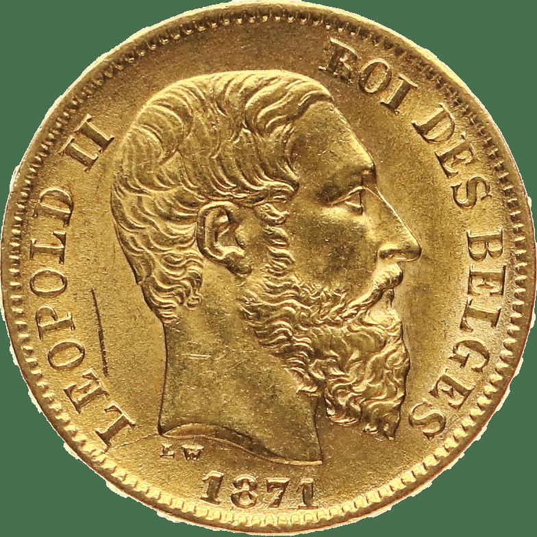 Leopold Gold Münze im Pfandhaus