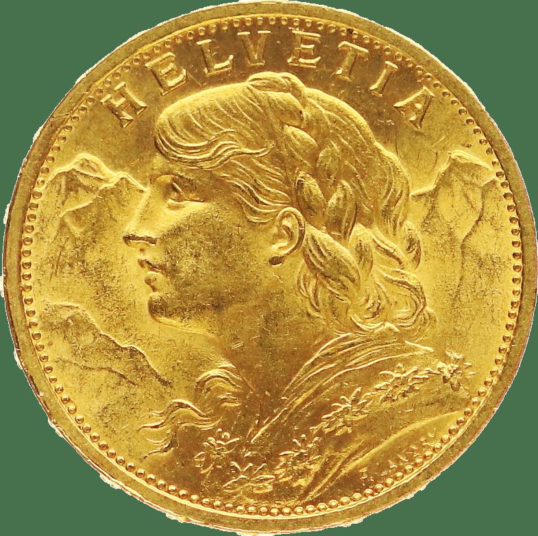 Vrenerli Gold Münze im Pfandhaus